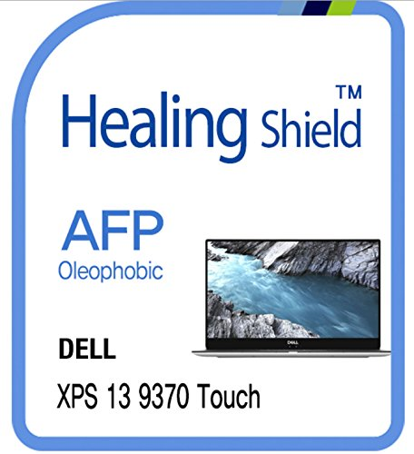 Clear Lcd Screen Film - Screen Protector for Dell XPS 13 9370 TouchScreen, AFP Oleophobic Coating Screen Protector Clear LCD Guard Healing Shield Film