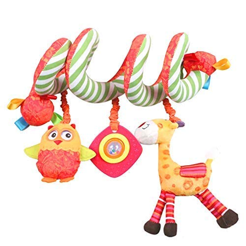Hot Deals Labebe Car Seat Toy, Hanging Toy for Baby with Yellow Giraffe & Owl, Baby Crib Toy/Fox Car Seat Toy Car Seat/Baby Stroller Toy/Owl Crib Toy/Owl Car Seat Toy/Giraffe Stroller Toy (Top 10 Best Pushchairs)