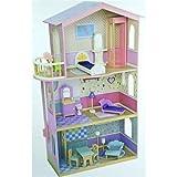 Serra Baby Mentari Wooden Educational Baby House with Balcony