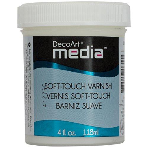 (Deco Art Media Soft Touch Varnish, 4-Ounce)