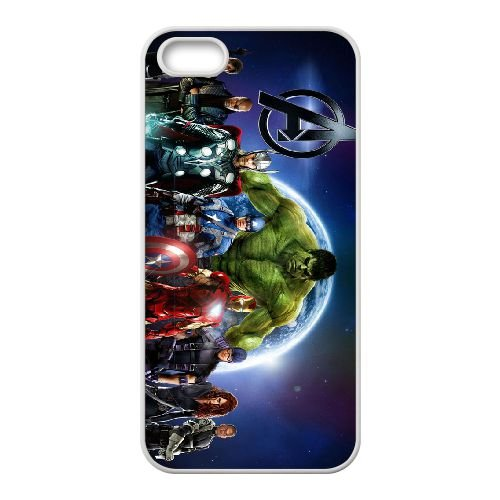 iPhone 4 4s Cell Phone Case White Avengers wxck