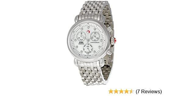 ab3839c8696ef Amazon.com  Michele CSX Mother of Pearl Diamond Dial Chronograph Ladies  Watch MWW03M000120  Michele  Watches