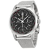 Breitling Men's AB0510U6/BC26 Pilot Analog Display Swiss Automatic Silver Watch