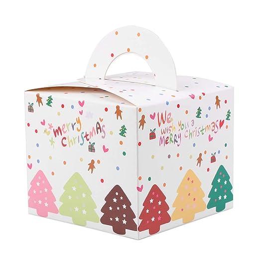 demiawaking Caja de Navidad Regalos Dulces Regalos Cajas de Regalo ...