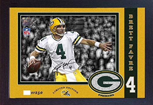 S&E DESING Brett Favre Green Bay Packers NFL Signed Autograph Photo Print ()