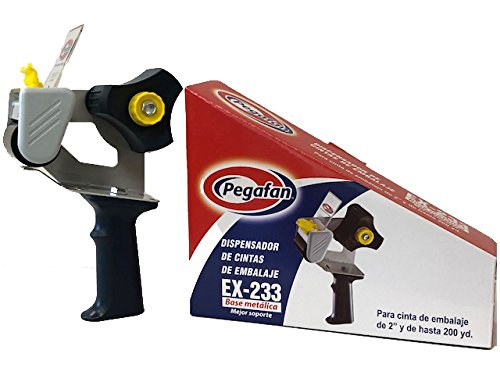 Amazon.com: PEGAFAN Value Package SHIPPING Tape Gun Dispensers, Easy To Tape Boxes, Seal Cartons PLUS Shipping Storage Packing Tape - 110 Yards Per Roll (6 ...