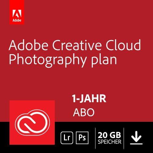 Adobe Creative Cloud Foto-Abo mit 20GB: PS + LR um 99,99€ anstatt 134€