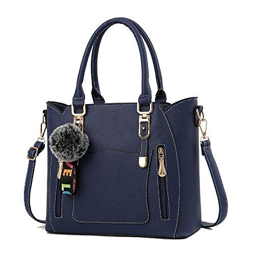 Femme Sauvage Sac La à Diagonale ZLL Sac De La Blue bag De Women's à Sac Mode Bandoulière Main HqE0Pw