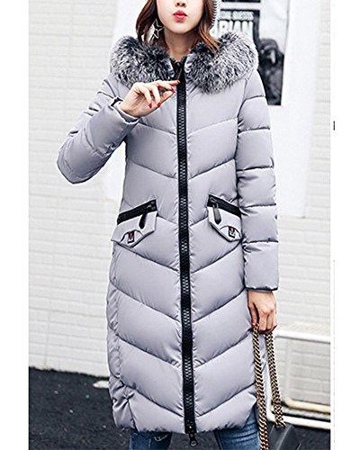 matelass en Coton Section Longue Manteau col Duvet Femme en ZongSen Gros Veste Veste A71qpgxcw