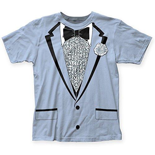 Impact Originals Retro Prom Blue Tux T-shirt