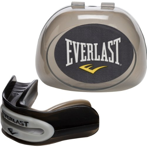 Everlast One Size Brain Pad Mouth Guard (Black) (Everlast Mouth Guard)
