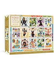 Women in Art Puzzle: Fearless Creatives Who Inspired the World 500-Piece Jigsaw Puzzle and Poster: Fearless Creatives Who Inspired the World 500-Piece ... for Adults and Jigsaw Puzzles for Kids
