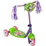 GIRLS Huffy Disney Fairies 3-Wheel Preschool Scooter