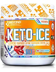 Keto Ice | Beyond Yourself | Stimulant-Free Fat Burner & Metabolism Booster | L-Carnitine & Raspberry Ketone