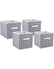 DII Foldable Fabric Storage Containers for Nurseries, Offices, Closets, Home Decor, Cube Organizers & Everyday Storage Needs