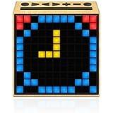 Divoom Timebox Ivoire  enceinte Bluetooth 5-watts Radio FM reveil et affichage Leds