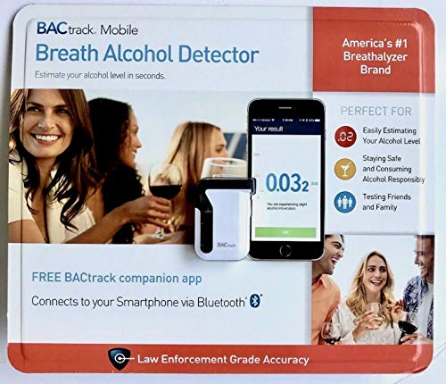 BACtrack Mobile Smartphone Breathalyzer for iPhone and Android