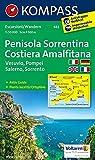 Halbinsel Sorrent /Penisola Sorrentina - Costiera Amalfitana - Vesuvio - Pompei - Salerno - Sorrento: Wanderkarte mit Aktiv Guide Dt. /Ital. /Franz. /Engl. 1:50000 (KOMPASS-Wanderkarten, Band 682)
