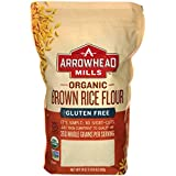 Arrowhead Mills Flour Long Brown Rice Organic, 24 oz