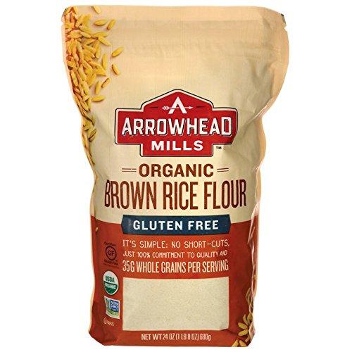 organic brown rice flour - 2