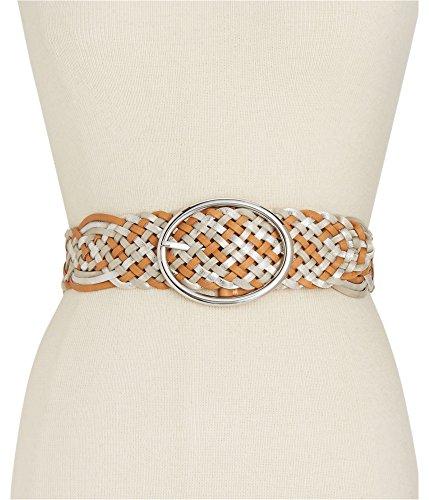 I-N-C Womens Metallic Woven Belt Multicoloured XL
