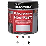 Professional Polyurethane Floor Paint LIGHT GREY 500ML by Blackfriar