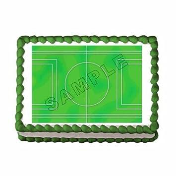 recipe: soccer field cake [22]