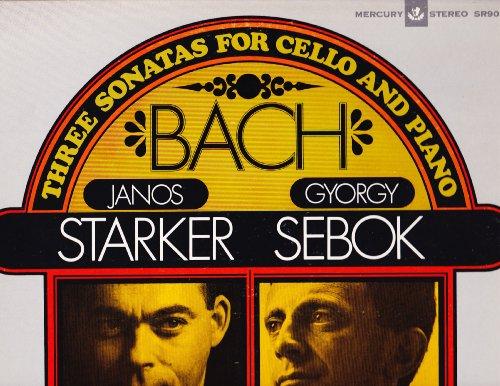 Bach 3 Sonatas for Cello and Piano Janos Starker