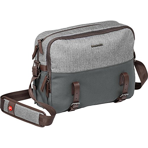 Manfrotto MB LF-WN-RP Camera Reporter Bag for DSLR Lifestyle Windsor, Grey (Windsor Chair Kit)