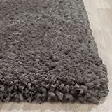 Super Soft Indoor Modern Shag Area Smooth Rugs Fluffy Rugs Anti-Skid Shaggy Area Rug Dinning Room Home Bedroom Carpet Floor Mat 5- Feet By 7- Feet (Grey) – (Popcorn Gray Grey) Review