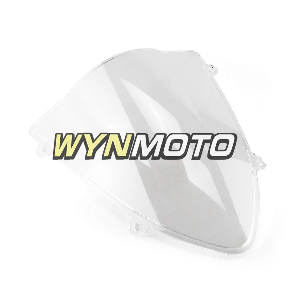 Motorcycle Windshield Double Bubble For Kawasaki EX250R Ninja 250 2008 2009 2010 2011 2012 Motorbike Windscreens Clear