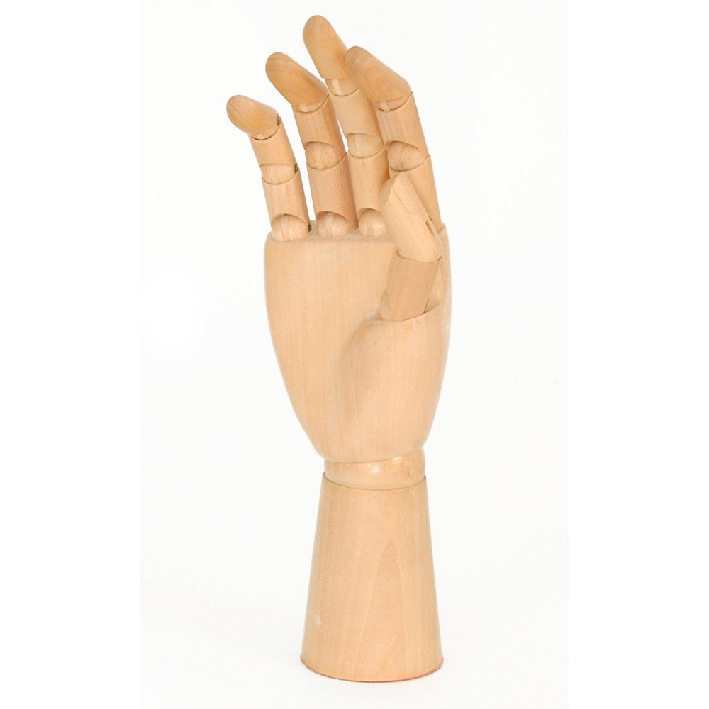 The Wall Holzhand 30cm Gliederhand Modellhand