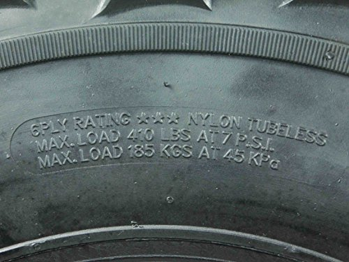 New MASSFX MS ATV/UTV Tires 26 x9-12 Front, Set of 2 26x9x12 26x9/12 by MASSFX (Image #3)