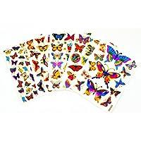 Fancy! Mix Pretty Butterfly No.1 Sparkle Sticker-5 Sheet