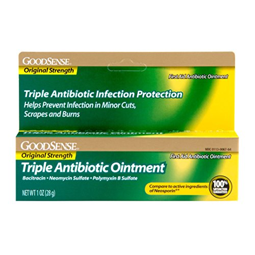 Strength First Aid Antibiotic Ointment (GoodSense Triple Antibiotic Ointment 1 OZ)