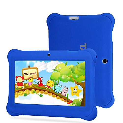 Tagital 7'' T7K Quad Core Android Kids Tablet, with Wifi and Camera and Games, HD Kids Edition with Kid Mode Pre-Installed (Blue) by Tagital (Image #2)