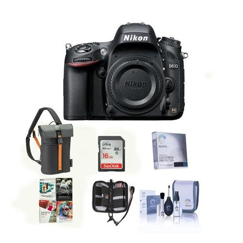Cheap Nikon D610 DSLR Camera Bundle. USA. Value Kit with Accessories #1540