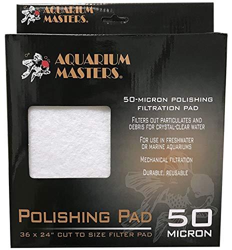 Aquarium Masters AM41080 Premium 50 Micron Polishing Pad 36x24