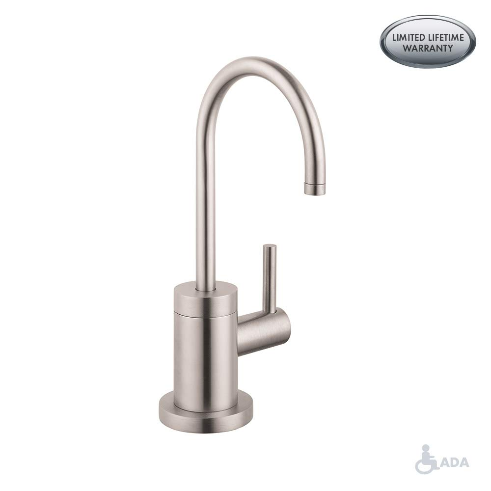 Hansgrohe 04301800 S Beverage Faucet, Steel Optik