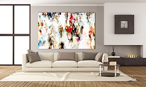 Giant Art GI90481K9 In Transit A Huge Contemporary Everyday Life Giclee Canvas Print, 84 x 54'' by Giant Art
