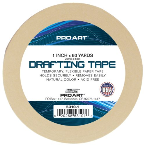 Pro Art 1-Inch by 60-Yard Drafting Tape by PRO ART