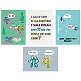 Creative Teaching Press Math So Much Pun! Poster 4-Pack, CTP (8520)