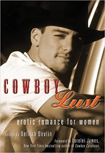 Lustful cowboys making out