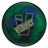 Ebonite Verdict Bowling Ball, Dark Blue/Blue/Green, 15lb