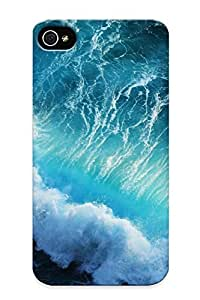 13e70103753 Awesome Seascapes Oceans Sea Waves Nature Water Flip Case With Fashion Design For Iphone 4/4s As New Year's Day's Gift