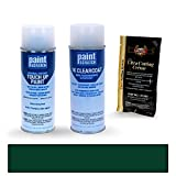 2002 Jaguar All Models British Racing Green 1753/HGD Touch Up Paint Spray Can Kit by PaintScratch - Original Factory OEM Automotive Paint - Color Match Guaranteed