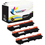 Smart Print Supplies TN221 3 Pack Colour TN-221 Premium Compatible Toner Cartridge Replacement for Brother HL-3140CW 3170CDW, MFC-9130CW 9330CDW 9340CDW, DCP-9020CDW Printers (Cyan, Magenta, Yellow)