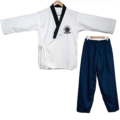 JXS-Outdoor Karate Taekwondo Traje - Algodón Estudiante Gi Inc ...