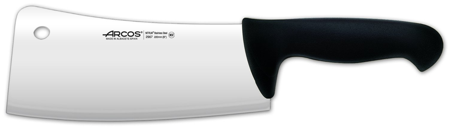Arches 2900 – Kitchen Cleaver, 220 mm Black Arcos 296725