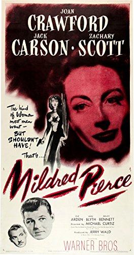 Posterazzi Mildred Pierce U.S. Poser Art Zachary Scott Jack Carson Joan Crawford 1945 Movie Masterprint Poster Print, (24 x 36)